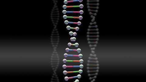 DNA Strand Genome image 3 B1A1c 4k Animation