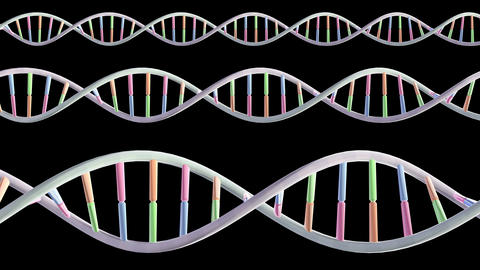 DNA Strand Genome image 3 Element A0 All 4k CG動画