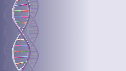 DNA Strand Genome image 3 A1A1c 4k Animation