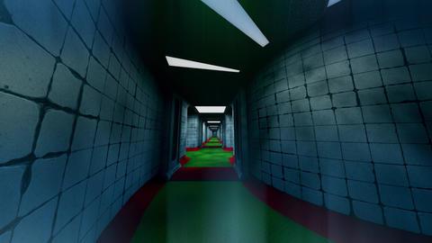 Forsaken Asylum Corridors 5 Animation