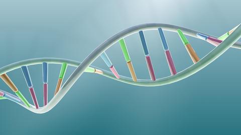 DNA Strand Genome image 3 A2 A5 4k Animation