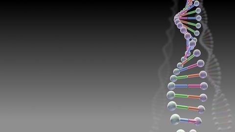 DNA Strand Genome image 3 B1A2a 4k Animation
