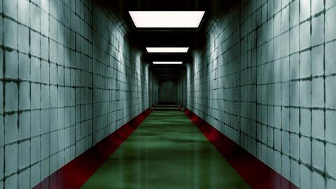 Scary Labyrinth Maze Underground Corridor 2 Animation
