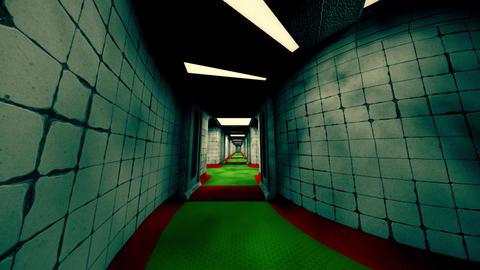 Forsaken Asylum Corridors 6 Animation
