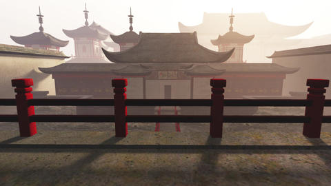 Traditional Chinese Inner Courtyard 3D Animation 2 Animation