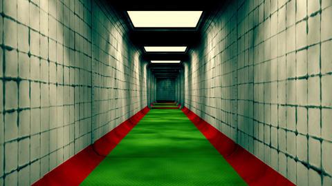 Scary Labyrinth Maze Underground Corridor 3 Animation