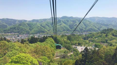埼玉県 宝登山 ロープウェイ ビデオ