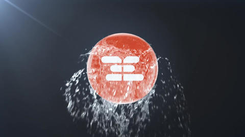 Water Logo Reveal After Effects Template