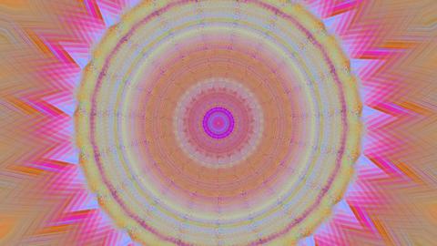 Casual geometrical elegant shimmering background. Kaleidoscope effect Footage