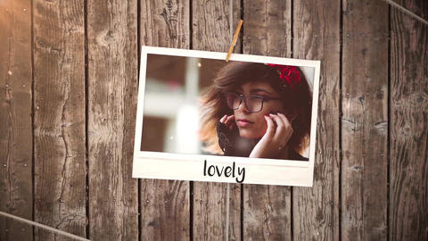 Vintage Polaroid Slideshow After Effects Template