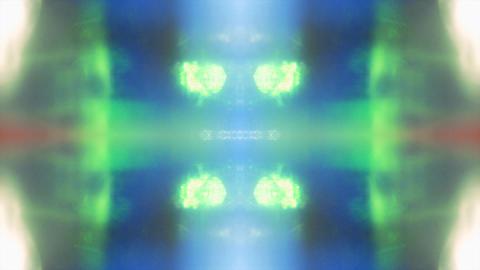 Kaleidoscope reflective nostalgic elegant iridescent background Footage