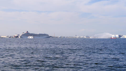 神奈川県 豪華客船 ビデオ
