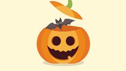 Halloween pumpkin. 2d animation Animation