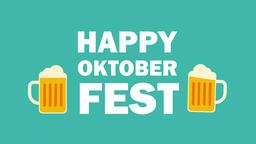 Happy Oktoberfest. 2d animation Animation