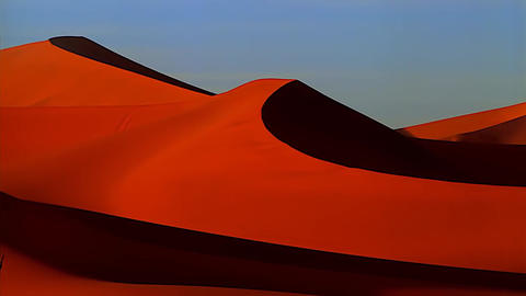 Red Sands of The Namib Pustkli Footage