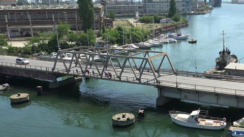 Port of Varna. Bulgaria Footage