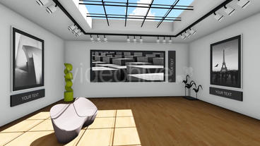 Contemporary Art Exhibition Gallery (After Effects Template) After Effects Project