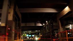 Tokyo car window. Near Shibuya Station East/渋谷駅の宮益坂口、東口付 Footage