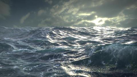 Ocean Storm Footage