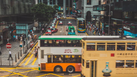 Hong Kong Traffic. Part 1.