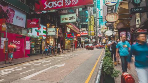 Hong Kong Traffic. Part 1. 1