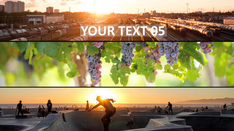 Clean Slide Show After Effects Template