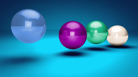 Bouncing Balls Logo Reveal After Effects Templates