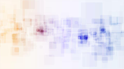 Abstract tech blue orange video animation Animation