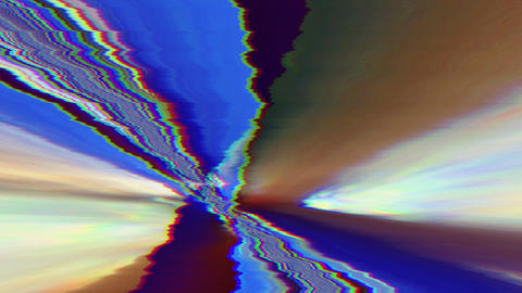Multi-colored artistic vintage nostalgic video. Dreamy trip to infinity Footage