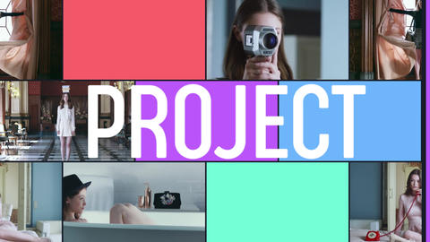 Multiframe Promo After Effects Template