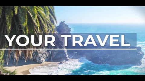 Travel Slideshow After Effects Template