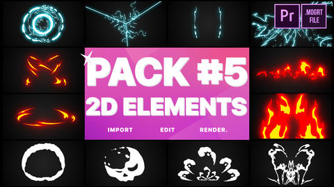 Elements Pack 05 Motion Graphics Template