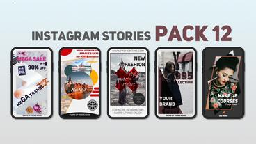 Instagram Stories Pack 12 After Effectsテンプレート