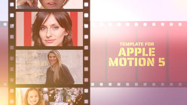 Movie Time Apple Motion Template