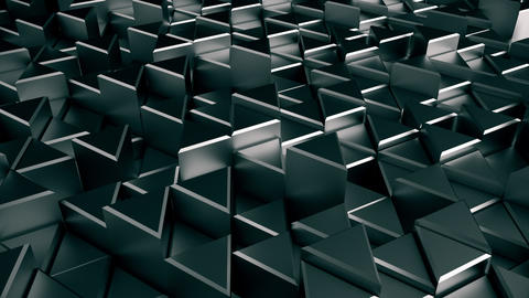 Metal Triangle Looping Animation 3 Animation