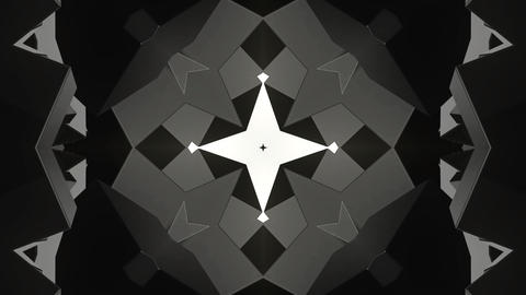 Abstract Black Patterns Animation