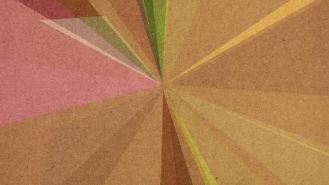 Cardboard Geometrics Footage