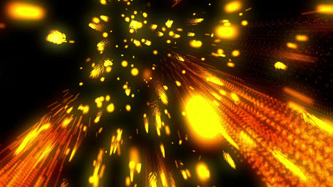 Raining Fireworks 4 Loopable Background Animation