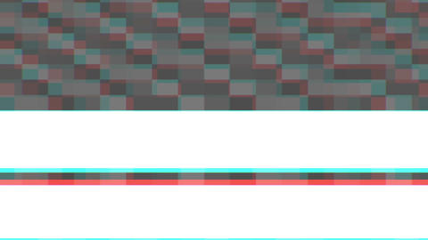 Interference with broadcast TV shows in the TV with color defects in the color Footage