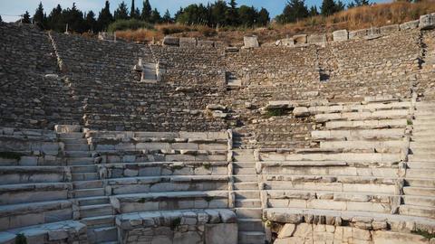 Ancient roman amphitheatre Live Action