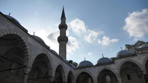 Mosque minaret Live Action