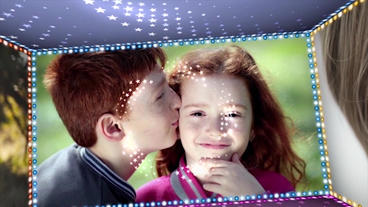 CreativeBurst Light Slide Show After Effects Templates