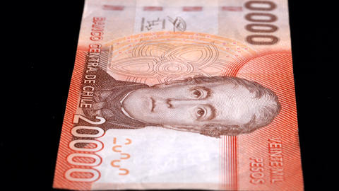 Currency Scan Low Depth of Field Chile 20000 front Footage