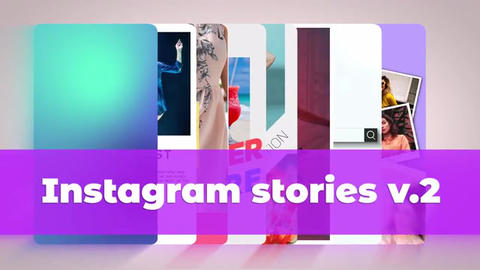 Instagram Stories v 2 After Effects Template