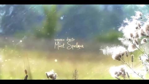 MAGICAL COUNTRYSIDE opening titles After Effectsテンプレート