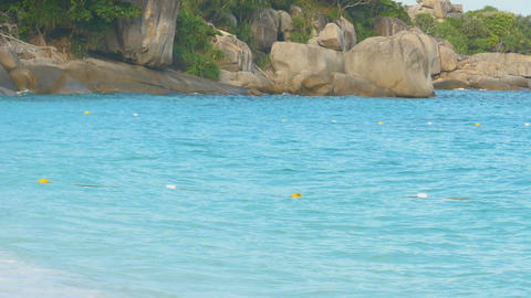 Azure water Similan Islands Footage