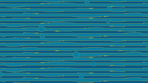 Blue orange grunge lines video animation Animation