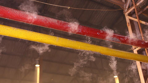 Steam pipe in the Factory Live Action