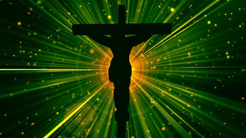 Christ on Cross-Worship 20 Loopable Background Animation