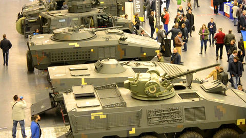 Military tanks and armored vehicles Live Action